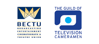 BECTU and Guild of Television Cameraman logos